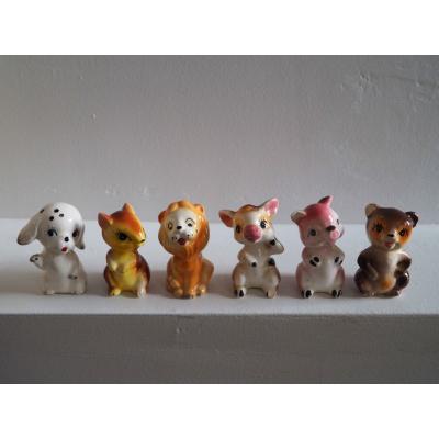 Ceramic Animal Set - Made in Japan